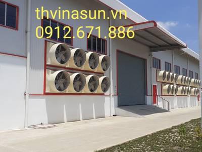 Quạt công nghiệp.Hệ thống lọc bụi Thvinasun 2