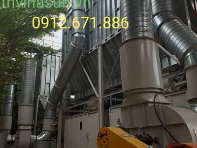 Quạt công nghiệp.Hệ thống lọc bụi Thvinasun 6
