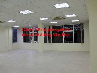 Từ 20-500m2  VP tầng1-3 tại nhà VP 8 tầng số 62 đường đôi Yên Phụ. Chính chủ, giá tốt, DVtốt 1