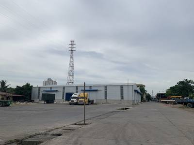 Cho thuê kho xưởng có cầu cảng 4500m2 ở Hùng Vương, HP 0