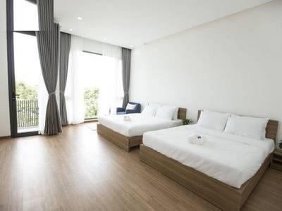 Cho thuê tòa nhà căn hộ 17 phòng full nội thất gần biển Mỹ Khê giá rẻ. 0