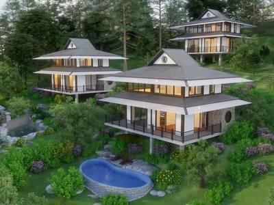 4 tỷ 2 căn biệt thự song lập VIP 300m2 đang vận hành khu biệt thự Onsen Villas Resort - Hòa Bình 0