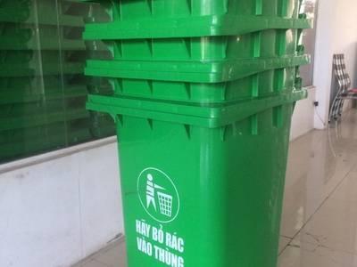 Bán sỉ lẻ thùng rác công cộng 120lit 1