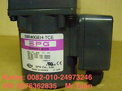 Chuyên cung cấp động cơ SPG nhập khẩu Hàn Quốc 150W S9I150GS-TCE 5