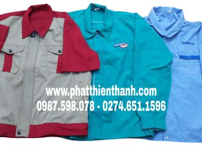 Đồng phục công ty áo thun, áo sơ mi, đồ bảo hộ  giá rẻ tại Bình Dương 5