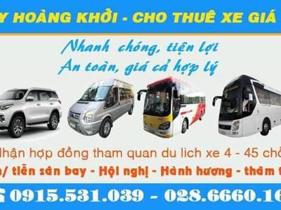 Cho thuê xe 16 - 29 - 45 chỗ tại TPHCM 1