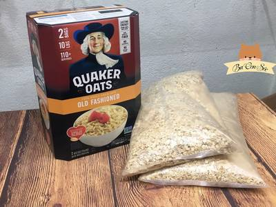 HÀNG CHUẨN USA  Yến mạch Quaker 4.52kg - Loại cán dẹp 1