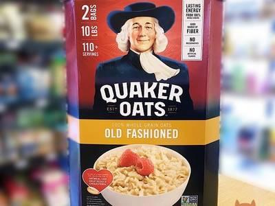 HÀNG CHUẨN USA  Yến mạch Quaker 4.52kg - Loại cán dẹp 3