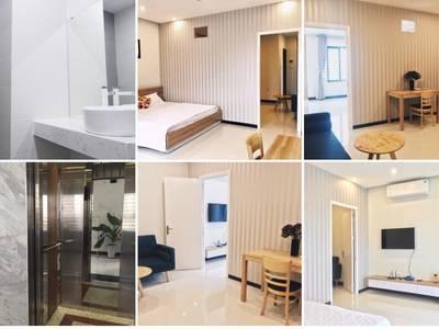 Cho thuê căn hộ đường Lê Thanh Nghị Hải Châu- Đà Nẵng-45m2 chỉ 5.5tr 5