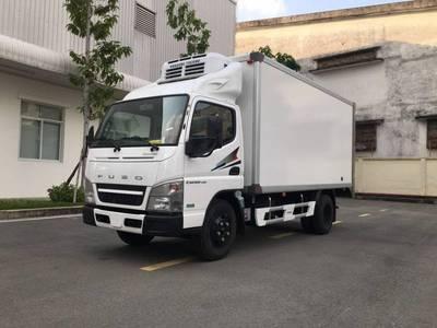 Bán xe tải Đông Lạnh Nhật Bản Fuso Canter 4.99 thùng 4m22 0