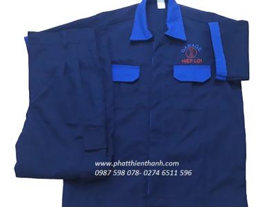 Đồng phục công ty áo thun, áo sơ mi, đồ bảo hộ  giá rẻ tại Bình Dương 16