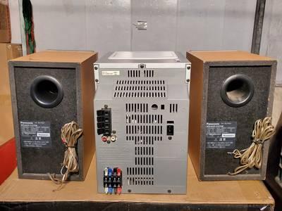 Dàn mini Nhật Panasonic SB-PM57 điện 110V, hàng bãi xịn, bao check 0