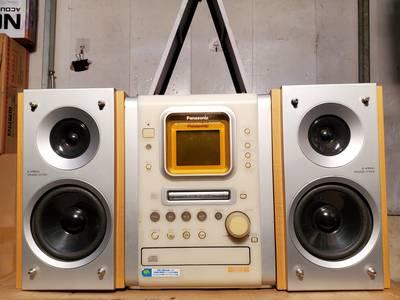 Dàn mini Nhật Panasonic SB-PM57 điện 110V, hàng bãi xịn, bao check 1