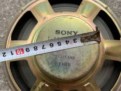 Đôi Loa bass 25 Sony từ neo 25cm 1-504-976-11 gỡ thùng, hàng bãi, nguyên bản 6