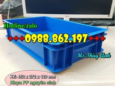 Khay nhựa b2, thùng nhựa B4, khay linh kiện, thùng nhựa có nắp, thùng nhựa đưng linh kiện 4