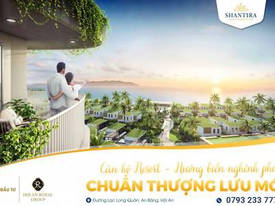 Căn hộ Resort Shantira có 100 view biển An Bàng 1