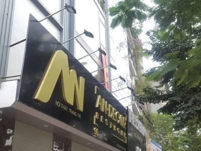 Cho thuê Cửa hàng kinh doanh mặt phố Trương Công Giai, diện tích 70m2 x 2T, MT 5,5m 2