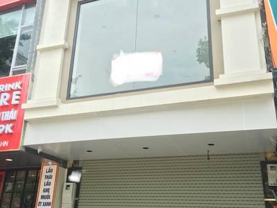Cho thuê Cửa hàng kinh doanh mặt phố Trương Công Giai, diện tích 70m2 x 2T, MT 5,5m 0