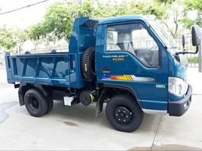 Xe tải ben 2,5 tấn Chất lượng Quảng Ninh 0