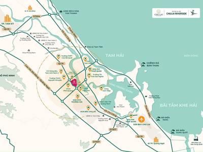 Đất nền dự án CHU LAI RIVERSIDE Núi Thành - Quảng Nam 4