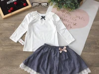 Áo thu cotton dài tay cho bé 9