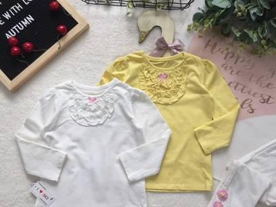 Áo thu cotton dài tay cho bé 11