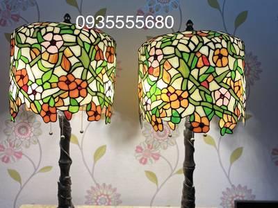 Giao lưu đôi đèn tiffany hoa rủ hàng mỹ 1