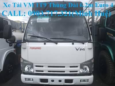 Xe tải Isuzu VM 1T9 thùng dài 6m2. Bán trả góp xe tải Isuzu VM 1t9 thùng dài 6m2 3
