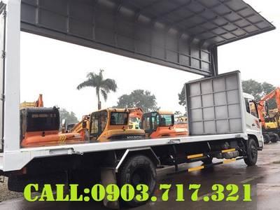 Xe tải Dongfeng B180 thùng kín cánh dơi mới 2020 nhập khẩu giá tốt 8