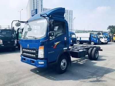 Thanh lý xe tải tồn Howo 6 tấn 4m2 ga cơ 2017 trả trước 120 tr 2