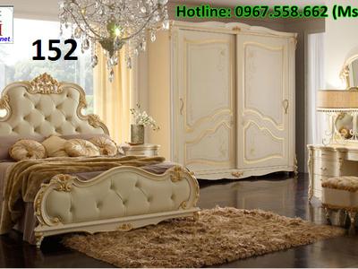Giường ngủ cổ điển cao cấp, các mẫu giường tân cổ điển đẹp 1