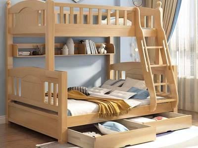 Thiết kế thi công giường ngủ cho bé gái hay trai 2