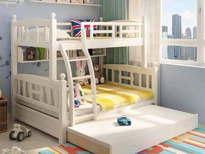Thiết kế thi công giường ngủ cho bé gái hay trai 6