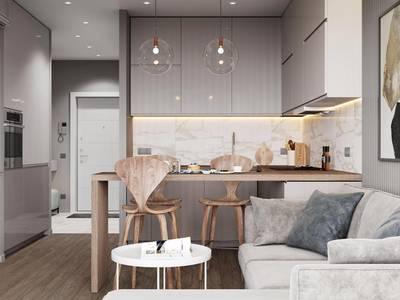 Thi công nội thất tủ bếp gỗ AN CƯỜNG tphcm 2