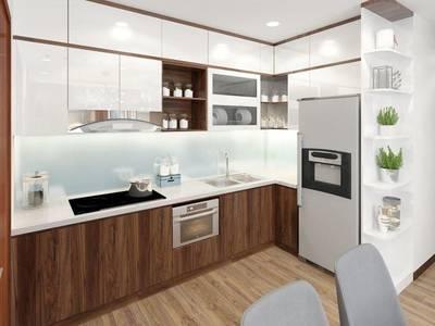 Thi công nội thất tủ bếp gỗ AN CƯỜNG tphcm 7