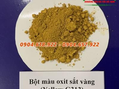 Bán bột màu oxit sắt 4