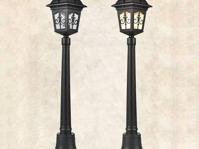 Đèn cột sân vườn Châu Âu GL-C3101 0