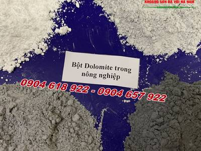 Sử dụng Dolomite cho ngành phân bón 3
