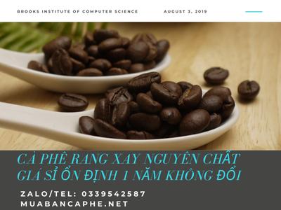 Cà phê rang xay nguyên chất 100 chế biến ướt cao cấp tại thị trường, Thuận An, Bình Dương. 3