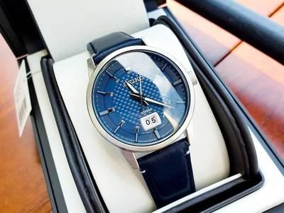 Seiko Quartz Blue 2