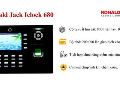 Máy chấm công Ronald Jack 680 0