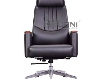 Ghế xoay cho giám đốc nệm da cao cấp chân nhôm CD7141-L nhập khẩu TPHCM 0