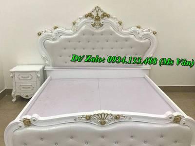 Mẫu giường phòng ngủ tân cổ điển kiểu châu âu đẹp nhất 1