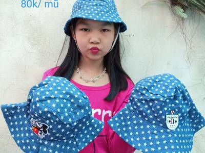 Thiết kế, bán buôn, bán lẻ mũ vải thời trang siêu đáng yêu cho bé 5