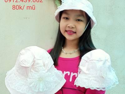Thiết kế, bán buôn, bán lẻ mũ vải thời trang siêu đáng yêu cho bé 14