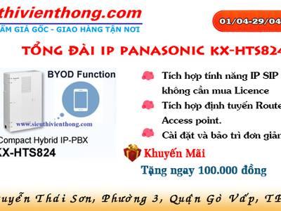 Săn Deal khủng với Tổng đài IP Panasonic KX-HTS824 0