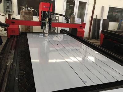 Gia công cắt laser inox màu theo nhu cầu 1