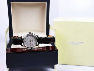 Longines Nam SAINT IMIER Automatic Dây Da Size 41 mm fullbox Like New 0