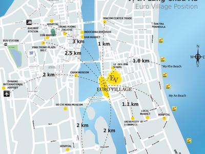 Cho thuê Biệt Thự khu đô thị Euro Village   Làng Châu Âu bên cạnh Sông Hàn chỉ từ 18 triệu/tháng 9
