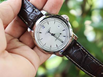 Longines Nam SAINT IMIER Automatic Dây Da Size 41 mm fullbox Like New 8